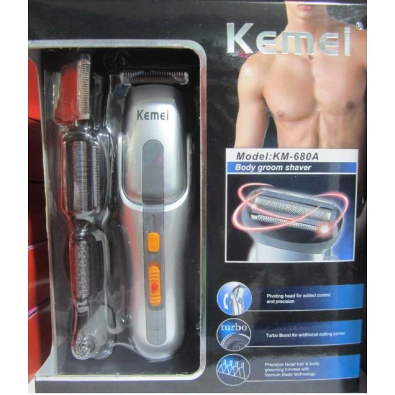 ... KEMEI KM-680 Σετ Κουρευτικής και Ξυριστικής Μηχανής για Μαλλιά και Γένια  8 σε 1 ac97d5b8404