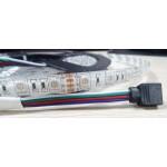 Σετ Αδιάβροχη Ταινία LED 5 μέτρων RGB 5050SMD High Power 12V με τηλεχειριστήριο