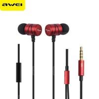Awei Q-5i Handsfree Ακουστικό Κόκκινο