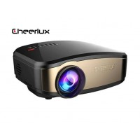 Cheerlux C6 wireless Ασύρματος φορητός Mini LCD LED Projector 1080p HD 800x480 1200 Lumens HDMI/USB