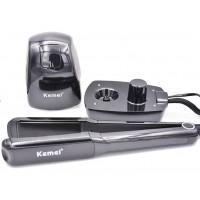 KEMEI KM-9090 Ισιωτική μαλλιών με γεννήτρια ατμού