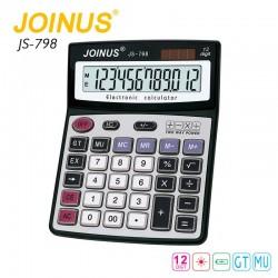 JOINUS JS-798  Αριθμομηχανή 12 ψηφίων με διπλή παροχή ενέργειας ΕΠΑΓΓΕΛΜΑΤΙΚΟΣ ΕΞΟΠΛΙΣΜΟΣ