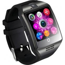 SMARTWATCH Q18 Bluetooth/Touchscreen/ΕΛΛΗΝΙΚΟ ΜΕΝΟΥ BLACK HOBBY - GADGETS