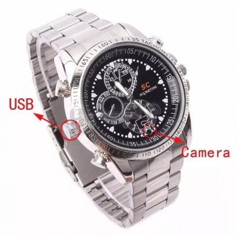 ... ΚΡΥΦΗ ΚΑΜΕΡΑ ΡΟΛΟΙ ΧΕΙΡΟΣ SPY CAM HD DVR WATCH 8GB OEM HOBBY - GADGETS  ... df9d24c7e20