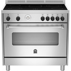 La Germania Americana B AMS9 CER 61 L B X Inox Κουζίνα Ηλεκτρική ΛΕΥΚΕΣ ΣΥΣΚΕΥΕΣ
