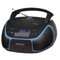 AUDIOLINE CD 96 CD MP3 USB ΦΩΤ ΟΘΟΝΗ ΜΑΥΡΟ ΜΠΛΕ