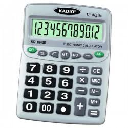 KADIO KD 1048B Αριθμομηχανή 12 ψηφίων με μεγάλη οθόνη και πλήκτρα (19 Χ 16) ΕΠΑΓΓΕΛΜΑΤΙΚΟΣ ΕΞΟΠΛΙΣΜΟΣ