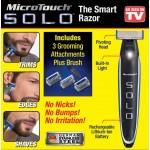 Επαναφορτιζόμενη Ξυριστική Κουρευτική Μηχανή / Trimmer Micro Touch Solo