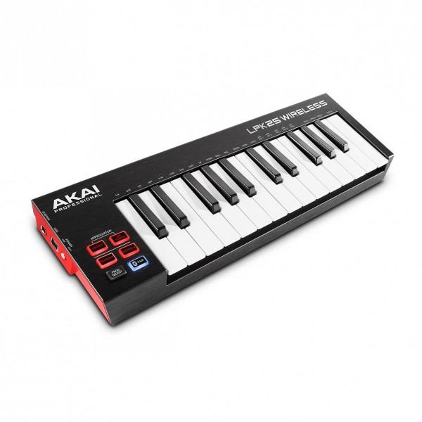 AKAI LPK-25 Wireless Midi Keyboard 25 Πλήκτρων HOBBY - GADGETS