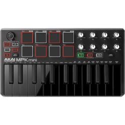 AKAI MPK Mini mkII LE Midi Keyboard 25 Πλήκτρων Μαύρο HOBBY - GADGETS