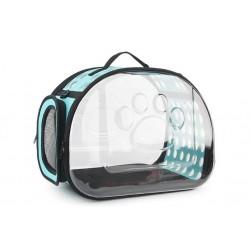 Τσάντα μεταφοράς σκύλου-γάτας Διάφανη