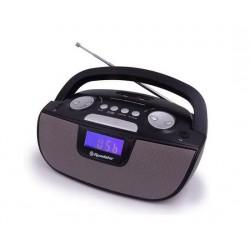 ROADSTAR RU-275 BK ΦΟΡΗΤΟ Ψηφιρακό Ράδιο FM, MP3, USB/ SD/AUX Φορητό ραδιόφωνο