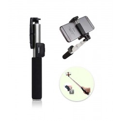 Remax P4 Selfie Stick Monopod with Wireless Bluetooth Shutter – Ασημί