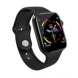 Smart Watch Fitness Tracker με μετρητή καρδιακών παλμών, SpO2 για Android / IOS W4 – Μαύρο