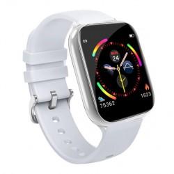 Smart Watch Fitness Tracker με μετρητή καρδιακών παλμών, SpO2 για Android / IOS W4 – Λευκό