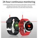 Smart Watch Fitness Tracker με μετρητή καρδιακών παλμών, SpO2 για Android / IOS G30 – Μπλε